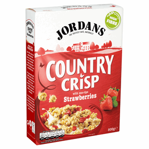 Jordans Country Crisp with Sun-Ripe Strawberries 500g Image