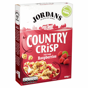 Jordans Country Crisp with Tangy Raspberries 500g Image