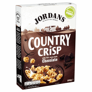Jordans Country Crisp with 70% Cocoa Dark Chocolate 500g Image