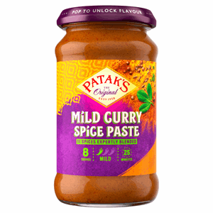 Patak's Mild Curry Spice Paste 283g Image