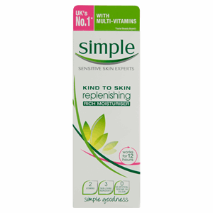 Simple Kind to Skin Replenishing Rich Moisturiser 125ml Image