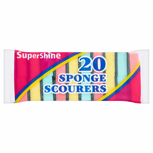 SuperShine 20 Sponge Scourers Image