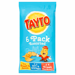 Tayto Assorted 6 x 25g (150g) Image