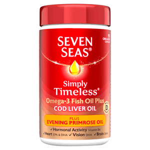 Seven Seas Cod Liver Oil Plus Evening Primrose Oil Capsules 90's Image