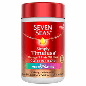 Seven Seas Cod Liver Oil Plus Multivitamin Capsules 30's Image