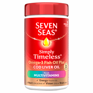 Seven Seas Cod Liver Oil Plus Multivitamin Capsules 90's Image