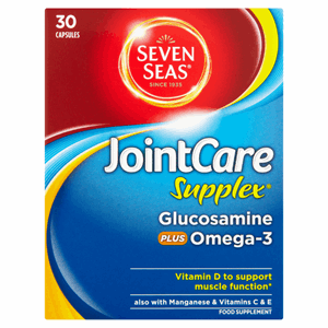 Seven Seas JointCare Supplex Glucosamine Plus Omega-3 30 Capsules Image