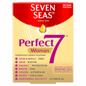 Seven Seas Perfect7 Woman 30 Day Duo Pack Tablets/Capsules Image