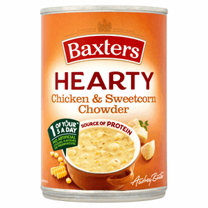 Baxters Hearty Chicken & Sweetcorn Chowder 400g Image