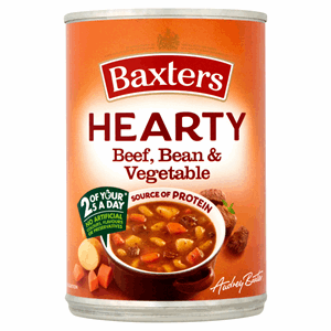 Baxters Hearty Beef, Bean & Vegetable 400g Image