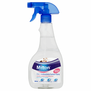 Milton Maximum Protection 3 in 1 Antibacterial Surface Spray 500ml Image