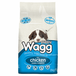 Wagg Puppy Complete with Chicken 2kg Image