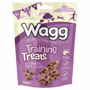 Wagg Training Treats with Chicken, Beef & Lamb 125g Image