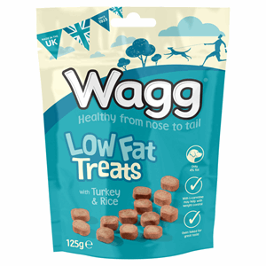 Wagg Low Fat Treats with Turkey & Rice 125g Image