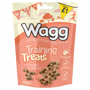 Wagg Training Treats with Chicken & Cheese 125g Image