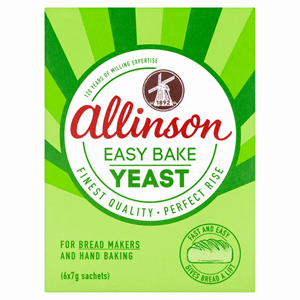 Allinson Easy Bake Yeast 6 x 7g (42g) Image