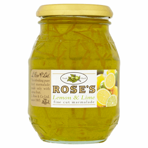 Rose's Lemon & Lime Fine Cut Marmalade 454g Image