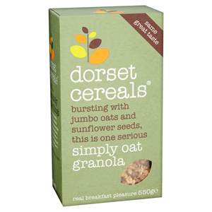 Dorset Cereals Simply Oat Granola 550g Image