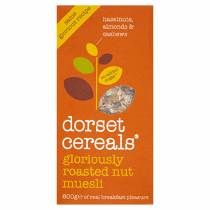 Dorset Cereals Gloriously Roasted Nut Muesli 600g Image