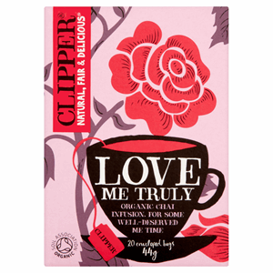 Clipper Organic Love Me Truly 20 Tea Bags 44g Image