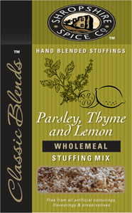 Shropshire Spice Stuffing Parsley Thyme 150g Image