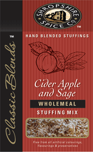 Shropshire Spice Stuffing Cider Apple Wholemeal 150g Image