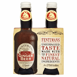 Fentimans Traditional Ginger Beer 4 x 275ml Image