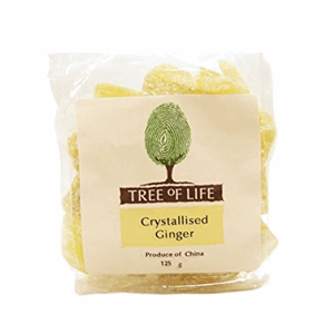 Tree Of Life Crystallised Ginger 125g Image