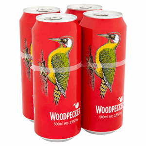 Woodpecker Cider 4 x 500ml Cans Image