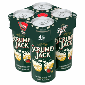 Symonds Scrumpy Jack Premium British Cider 4 x 500ml Cans Image