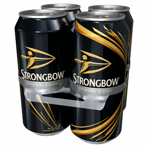 Strongbow Original Cider 4 x 440ml Cans Image