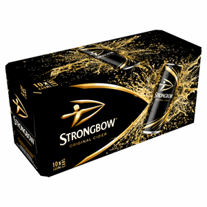 Strongbow Original Cider 10 x 440ml Cans Image