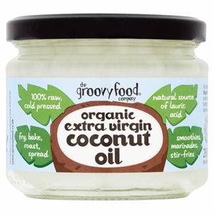 The Groovy Food Company Organic Extra Virgin Coconut Oil 283ml Image