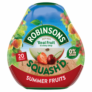 Robinsons Squash'd Summer Fruits On-The-Go Squash 66ml Image