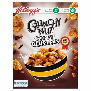 Kellogg's Crunchy Nut Chocolate Clusters 450g Image