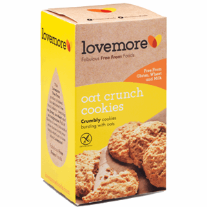 Lovemore Oat Crunch Cookies 150g Image