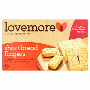 Lovemore Shortbread Fingers 125g Image