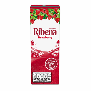 Ribena Strawberry 250ml Image
