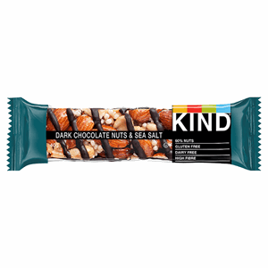 Kind Dark Chocolate Nuts & Sea Salt 40g Image