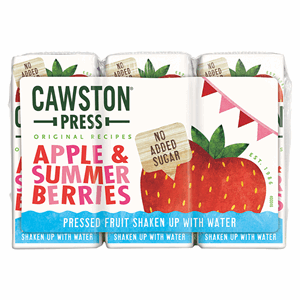 Cawston Press Apple & Summer Berries 3 x 200ml Image