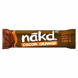 Nakd Cocoa Orange Raw Fruit & Nut Bar 35g Image