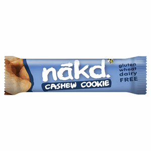Nakd Cashew Cookie Raw Fruit & Nut Bar 35g Image