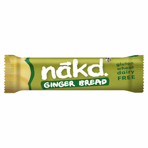 Nakd Ginger Bread Fruit & Nut Bar 35g Image