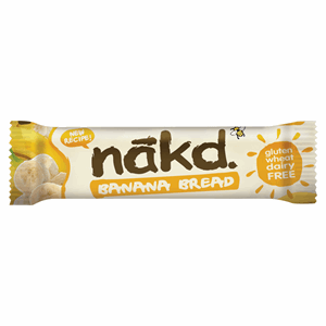 Nakd Banana Bread Fruit, Oat & Nut Breakfast Bar 30g Image