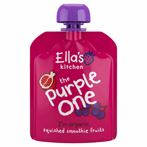Ella's Kitchen The Purple One Squished Smoothie Fruits 90g Image