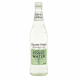 Fever-Tree Refreshingly Light Elderflower Tonic Water 500ml Image