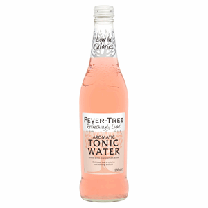 Fever-Tree Refreshingly Light Aromatic Tonic Water 500ml Image