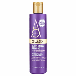 Argan + Collagen Rejuvenating Shampoo 300ml Image