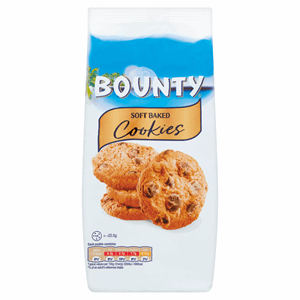 Bounty Soft Baked Cookies 180g Image