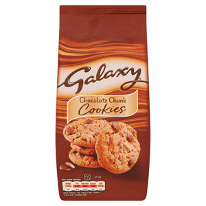 Galaxy Chocolate Chunk Cookies 180g Image